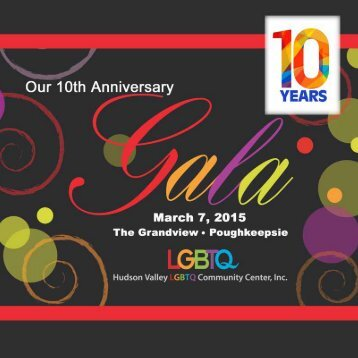 LGBTQ Gala Journal 2015