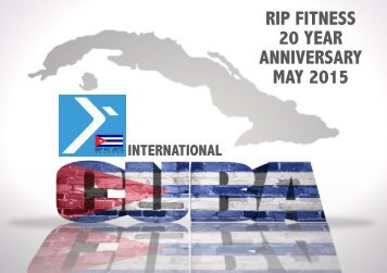 RIP FITNESS 20 YEAR ANNIVERSARY MAY 2015