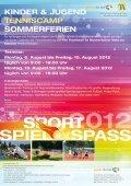 Kinder & JUgend TenniScAMP OSTern - Bastian Koenig - Seite 3
