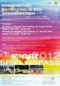 Kinder & JUgend TenniScAMP OSTern - Bastian Koenig - Seite 4