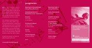 Frühjahrskonzert 2011: Im Original - Musikverein Freiburg-Zähringen