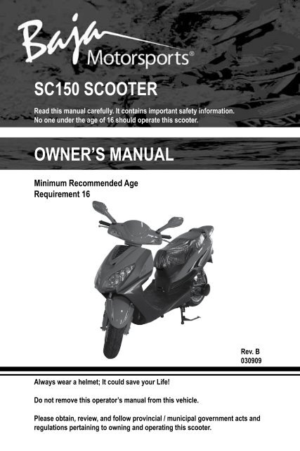 Baja Scooter Wiring Diagrams || Wiring Diagrams Home on