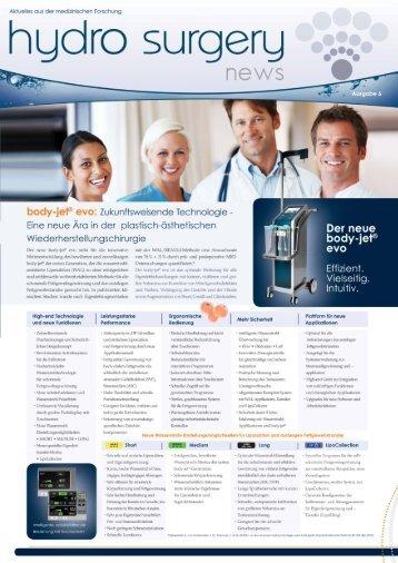 hydro surgery news Ausgabe 6 auf Deutsch - human med AG