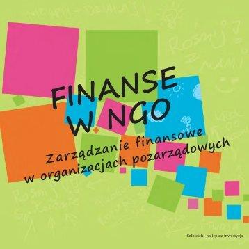 Finanse w ngo (pdf) - Sektor3