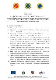Regulamin konkursu na logo - Ministerstwo Rolnictwa i Rozwoju Wsi