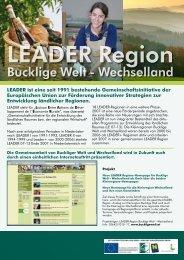 Bucklige Welt - Wechselland - LEADER-Region Bucklige Welt