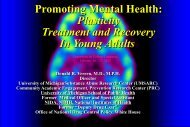 Promoting Mental Health - University of Michigan Depression Center