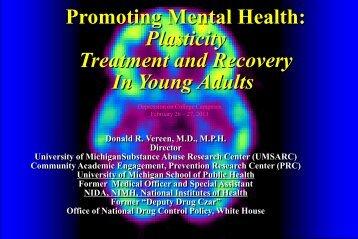 Promoting Mental Health - University of Michigan Depression Center