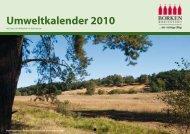 Umweltkalender 2010 - Stadt Borken