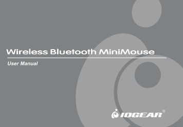 Wireless Bluetooth MiniMouse - IOGear