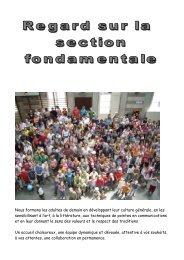 palmarès 2009 partie primaire - Athénée Royal de Péruwelz