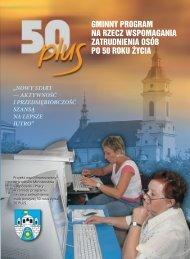 50 PLUS.indd - Gminne Centrum Informacji w Ostrowcu Św.