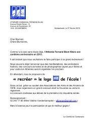 ATHENEE COMMUNAL FERNAND BLUM - Athénée Fernand Blum