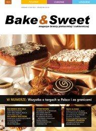 w numerze: wszystko o targach w Polsce i za ... - Bake & Sweet