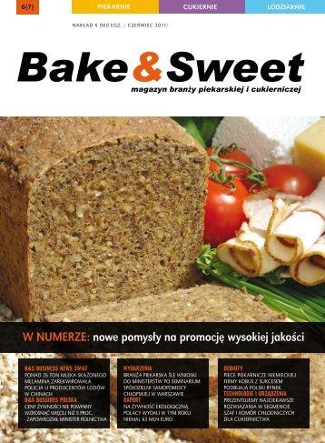 w numerze: nowe pomysły na promocję wysokiej ... - Bake & Sweet