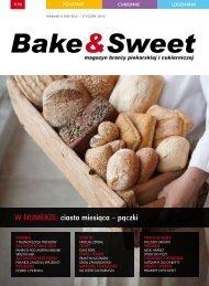 w numerze: ciasto miesiąca – pączki - Bake & Sweet