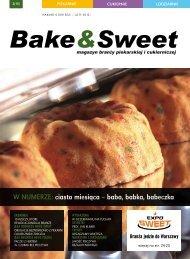 w numerze: ciasto miesiąca – baba, babka, babeczka - Bake & Sweet
