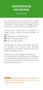 OSTEOPOROSE - Aktion gesunde Knochen - Seite 3