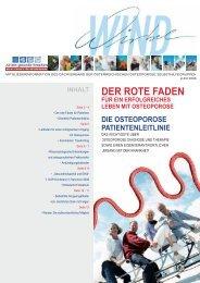 Der rote Faden - Die Osteoporose Patientenleitlinie