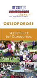osteoporose selbsthilfe - Aktion gesunde Knochen