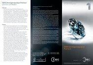Flyer DWS Vermögenssparplan Premium - Fondsportal24.de