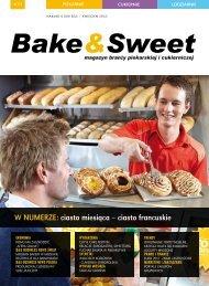 w numerze: ciasto miesiąca – ciasto francuskie - Bake & Sweet