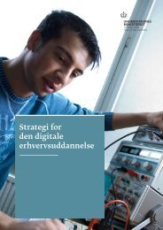 150325 Strategi for den digitale erhvervsuddannelse marts 2015