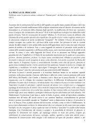 LA PESCA E IL PESCATO - Guidocorazziari.com