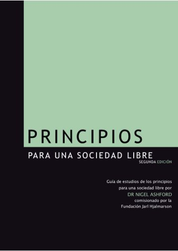 Principios para una Sociedad Libre - Jarl Hjalmarson Foundation
