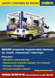 Dostawy dla klientów - Makro
