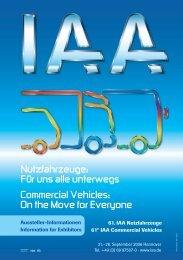 Aussteller-Informationen - IAA - Internationale Automobil-Ausstellung