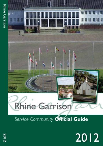 Rhine Garrison Service Community Official Guide - Method Publishing