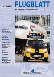 Ausgabe 4/00 - Flughafen Stuttgart