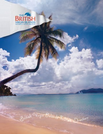 BVI06 TOURIST DIRECTORY - Experience The British Virgin Islands