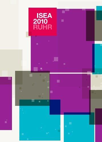 ISEA2010 RUHR Programmheft