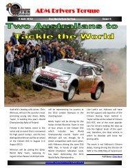 ADM Drivers Torque Issue 9 - Australian Driver Magazine