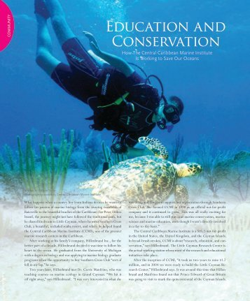 Education and Conservation