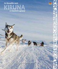 in Kiruna Lappland
