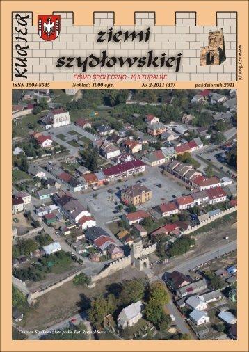 ISSN 1508-8545 Nr 2-2011 (43) październik 2011 ... - Gmina Szydłów