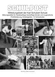 Schulpost Inhalt - Karl Schubert Schule