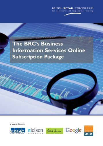 The BRC's Business Information Services Online - British Retail ...