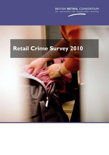 Retail Crime Survey 2010 - British Retail Consortium