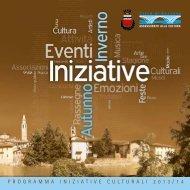 PROGRAMMA INIZIATIVE CULTURALI 2013/14 - Città di Seriate