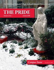 The Pride - Archbishop Rummel High School