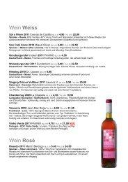 Wein Weiss Wein Rosé - DELIX wine bar