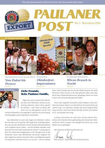 Von Dubai bis Denver Oktoberfest- Impressionen ... - Linzgieseder