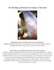 The Wedding Celebration of Lindsey & Dan Sech - The Hermosa Inn