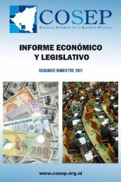 informe económico - Cosep