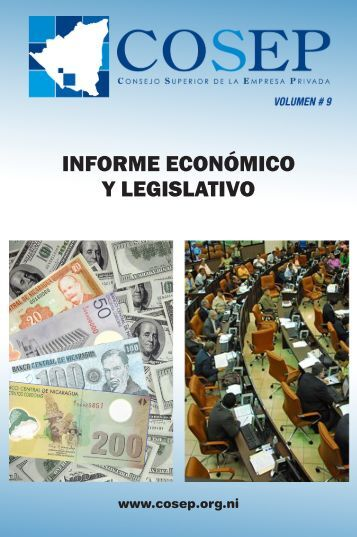 INFORME ECONÓMICO Y LEGISLATIVO - Cosep