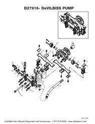 HUSKY HU80522 PUMP - Allparts Equipment & Accessories